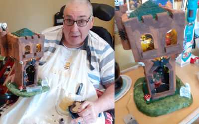 Halloween preparations and a fond farewell at Princess Christian Care Home