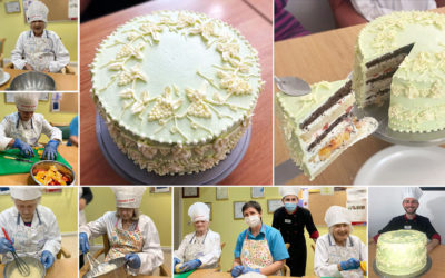 Princess Christian Care Home creates winning Showstopper Cake fit for a Queen