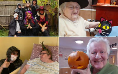 Spooky Halloween fun at Princess Christian Care Home