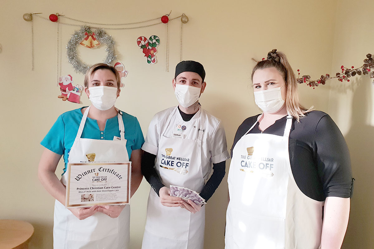 Princess Christian Care Home and The Great Nellsar Cake Off