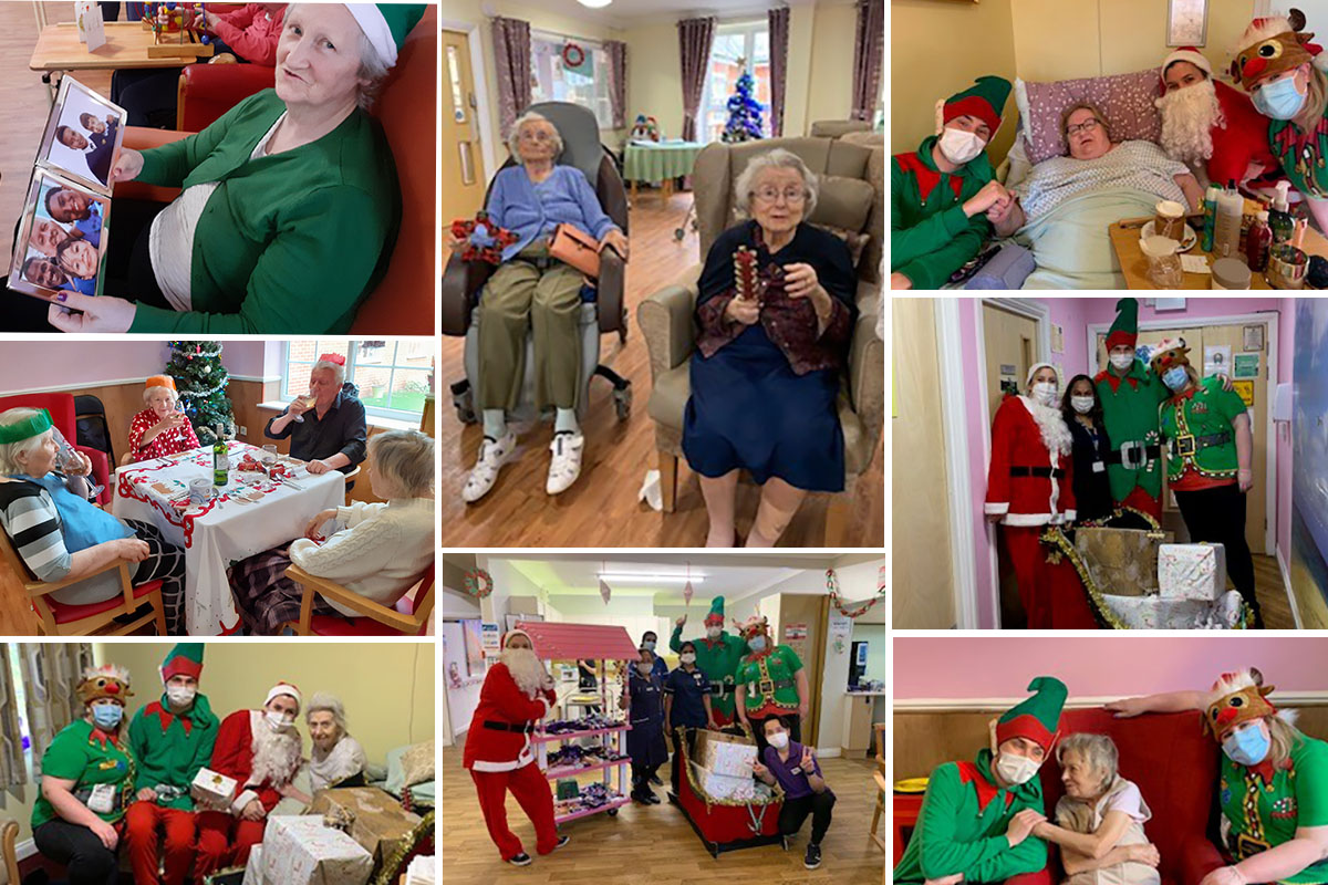 Christmas fun and New Year celebrations at Princess Christian Care Home