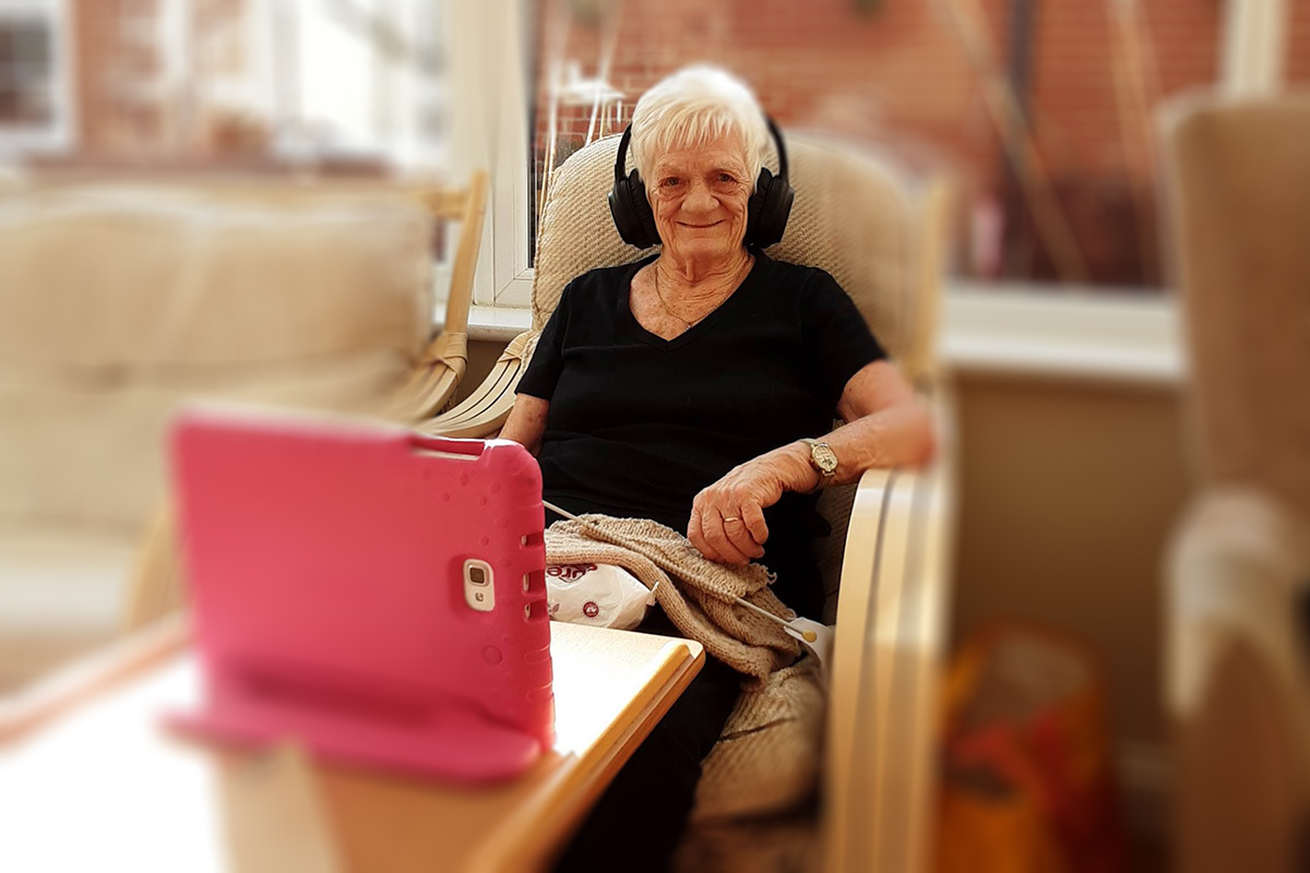 Communication and care at Princess Christian Care Home