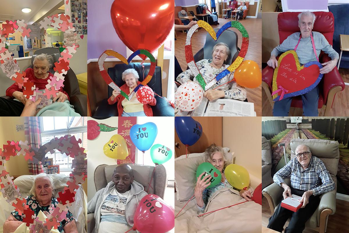 Love and balloons at Princess Christian Care Home