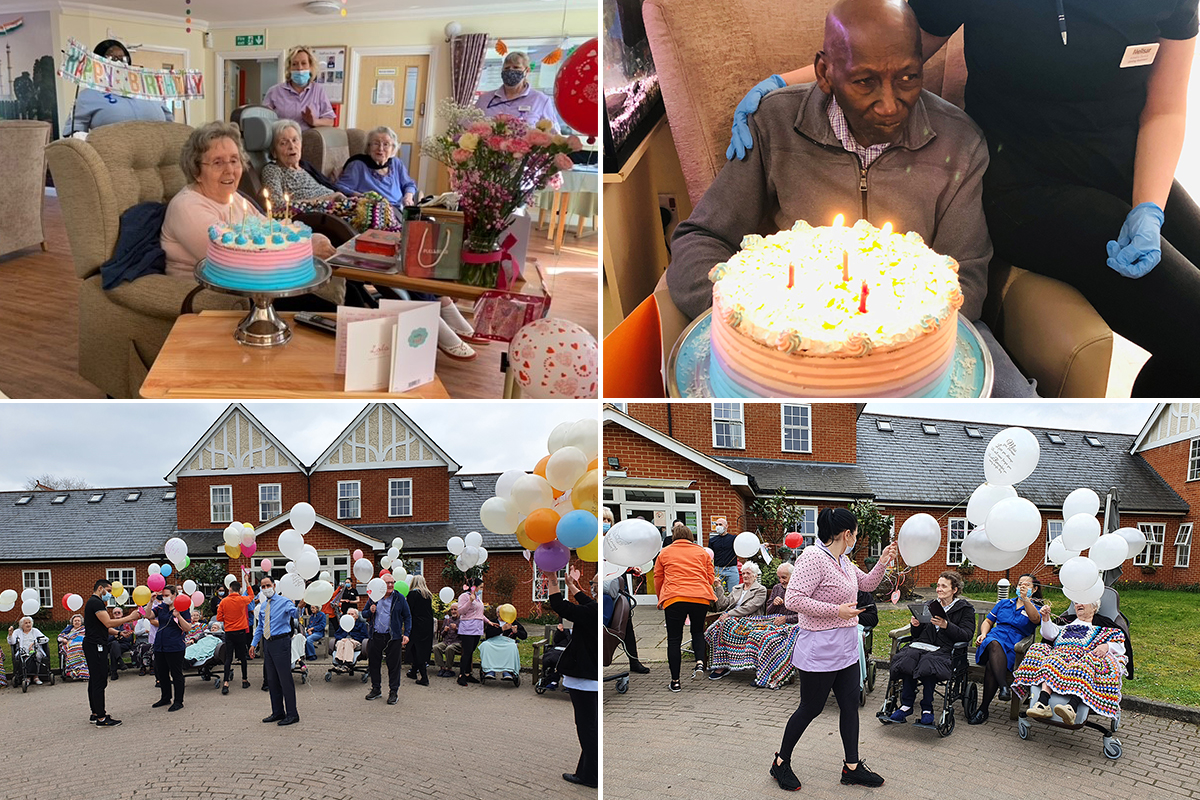 Birthday celebrations and remembering friends at Princess Christian Care Home