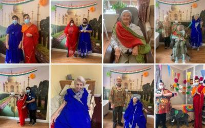 A taste of India at Princess Christian Care Home