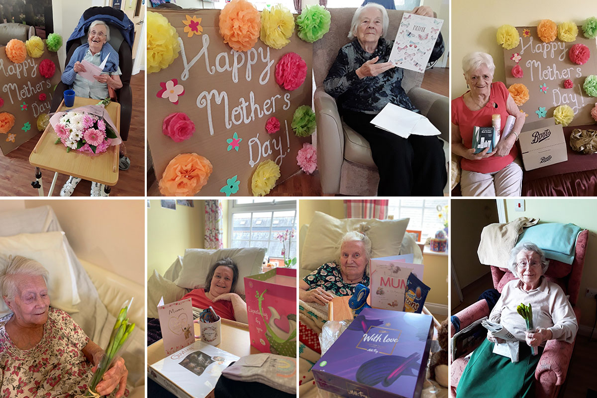 Mothers Day treats at Princess Christian Care Home