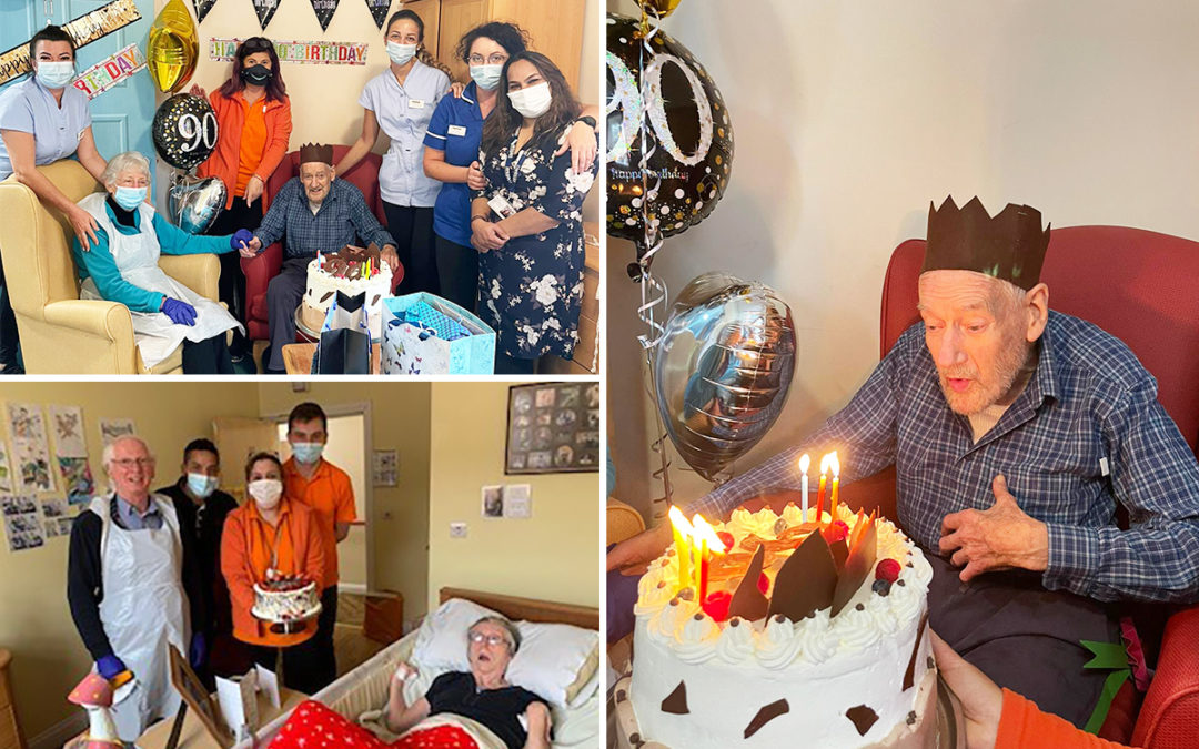 Birthday and anniversary celebrations at Princess Christian Care Home