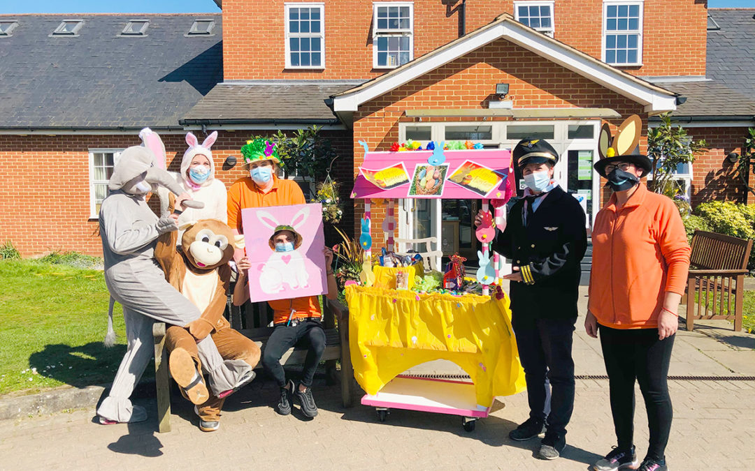 An egg-cellent Easter at Princess Christian Care Home