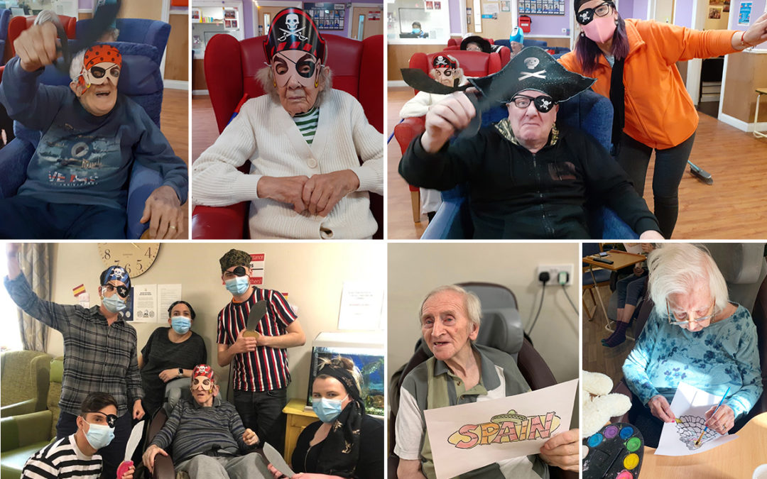 Troublesome pirates arrive in Princess Christian Care Home