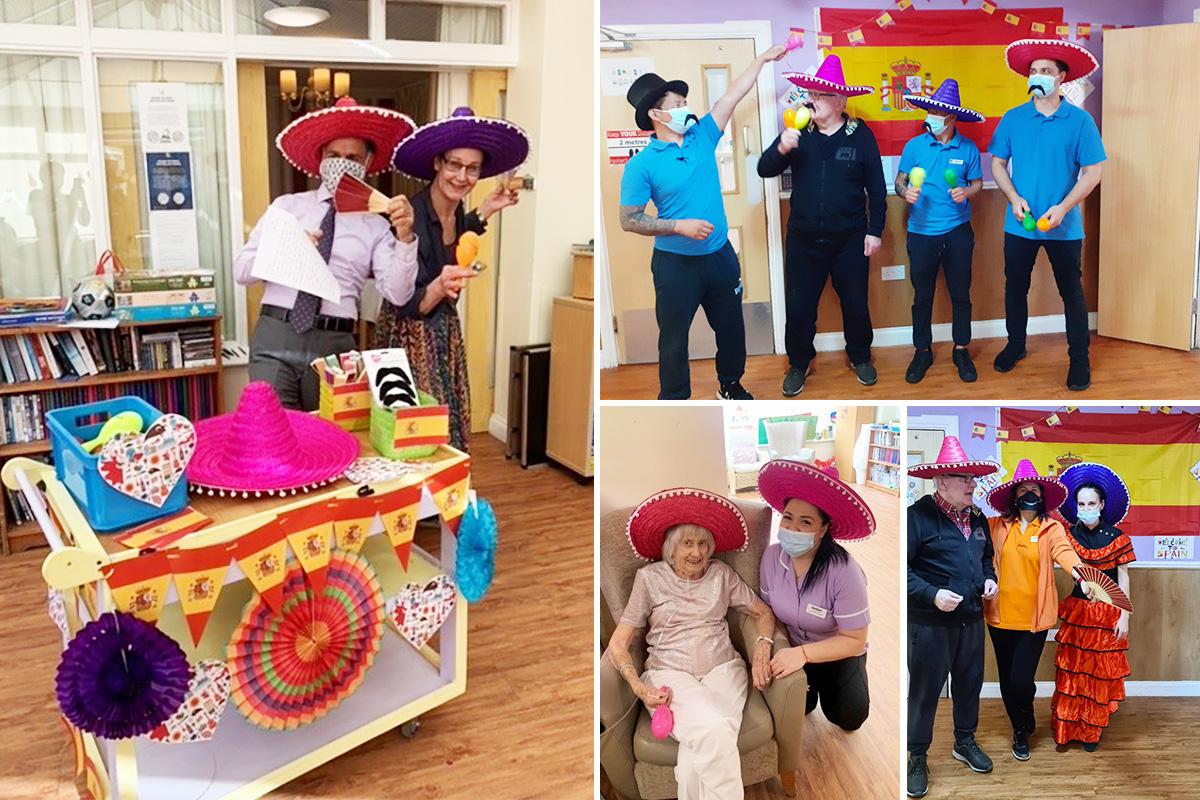 Spanish Day fancy dress fun at Princess Christian Care Home