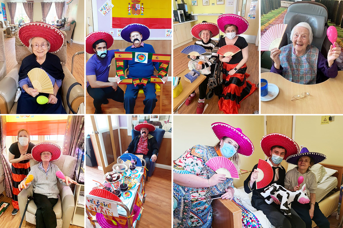 Spanish Day celebrations at Princess Christian Care Home