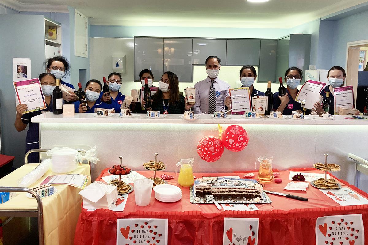 Celebrating Nurses at Princess Christian Care Home