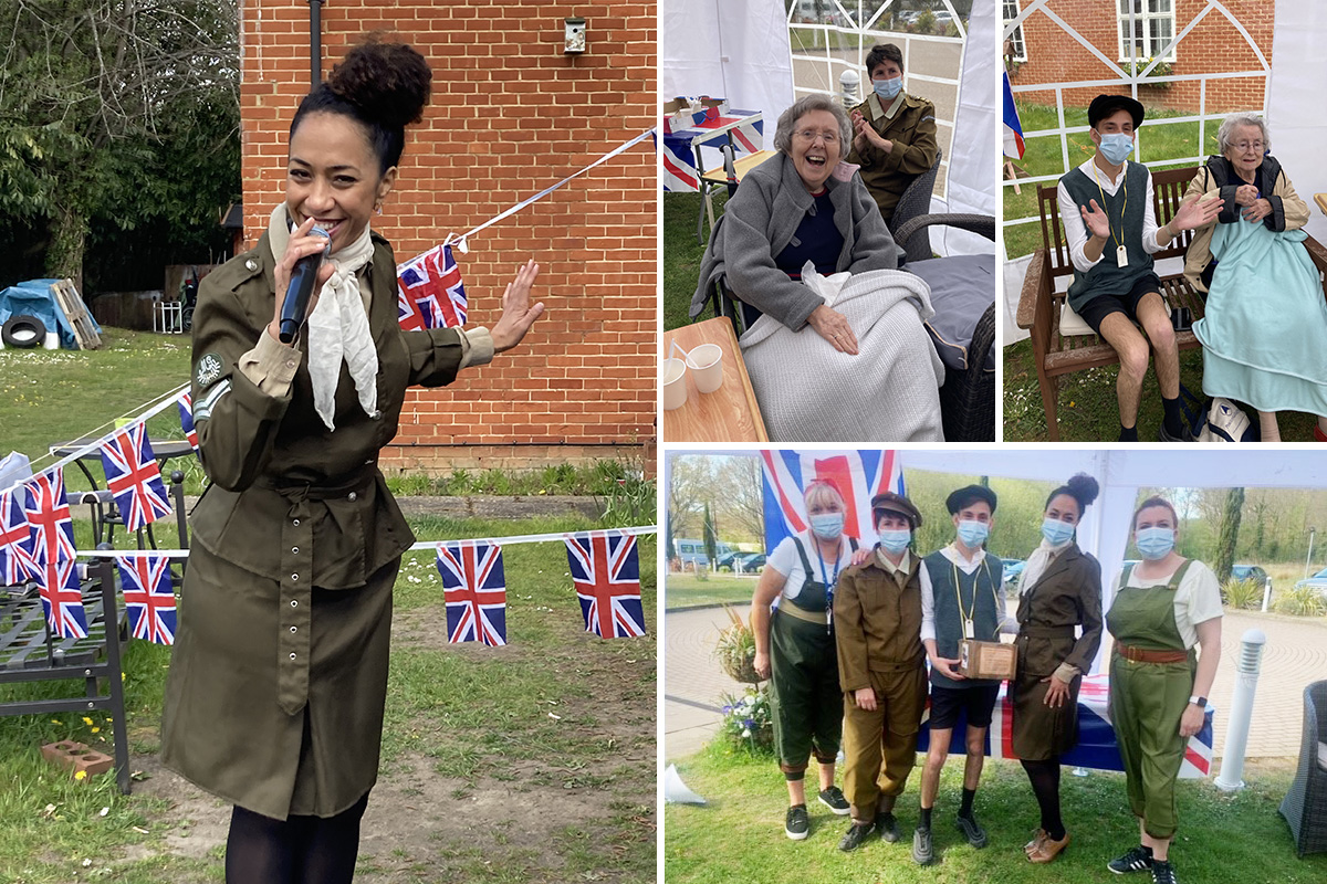 Princess Christian Care Home hosts wonderful VE Day party