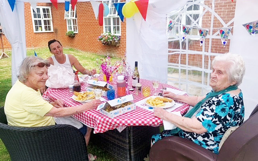 Birthday wishes for Betty at Princess Christian Care Home