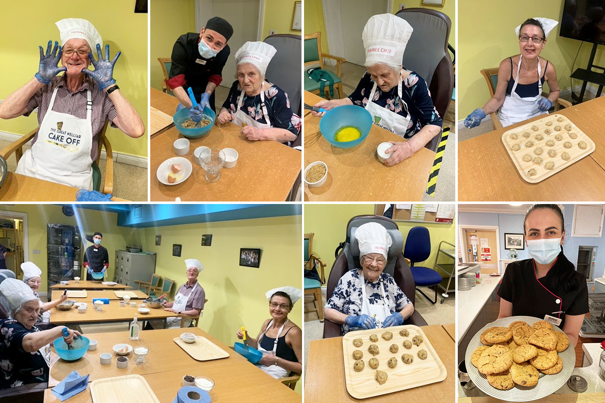 Princess Christian Care Home launches Cooking with Cosmin