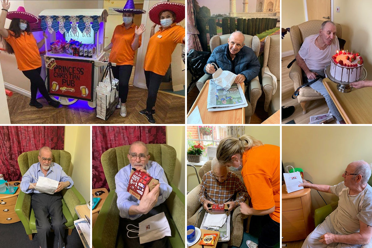 Fathers Day celebrations at Princess Christian Care Home