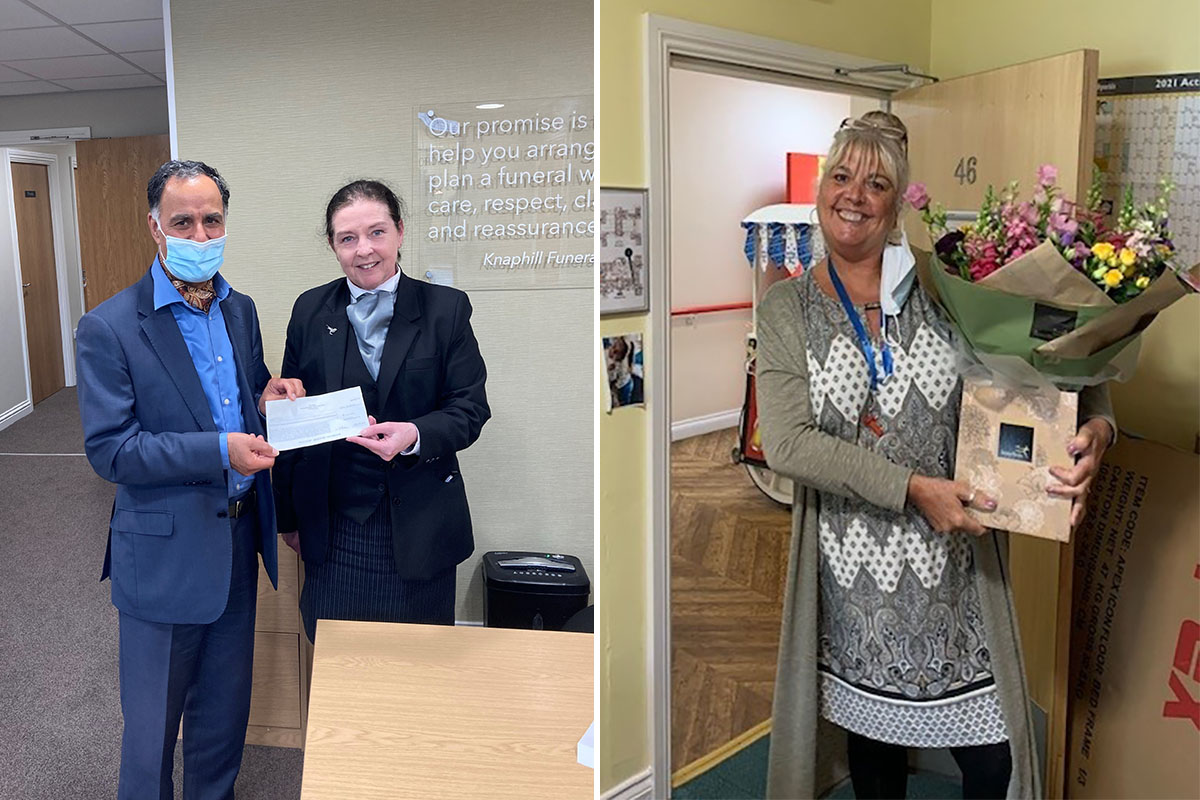 Princess Christian Care Home receives generous gifts from local community and family