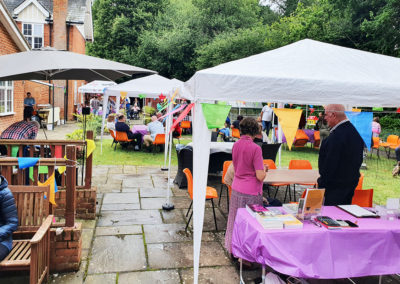 Freedom party fun for residents and families at Princess Christian Care Home 1