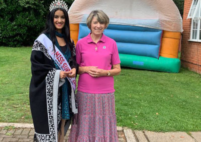 Freedom party fun for residents and families at Princess Christian Care Home 12