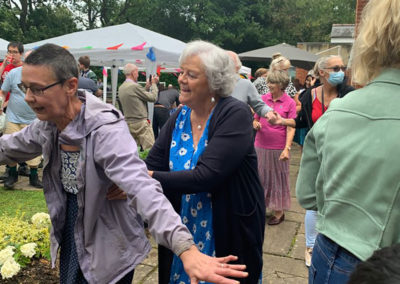 Freedom party fun for residents and families at Princess Christian Care Home 14