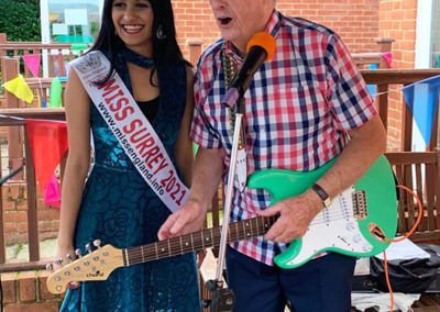 Freedom party fun for residents and families at Princess Christian Care Home 15