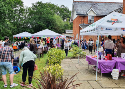 Freedom party fun for residents and families at Princess Christian Care Home 2