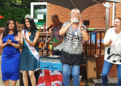Freedom party fun for residents and families at Princess Christian Care Home 4