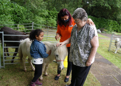 Freedom party fun for residents and families at Princess Christian Care Home 9