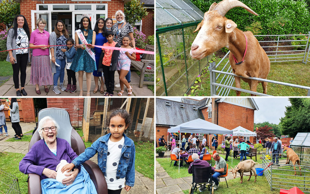Freedom Party fun for residents and families at Princess Christian Care Home